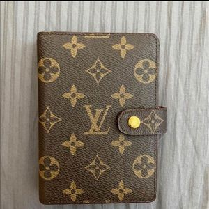 Louis Vuitton small agenda